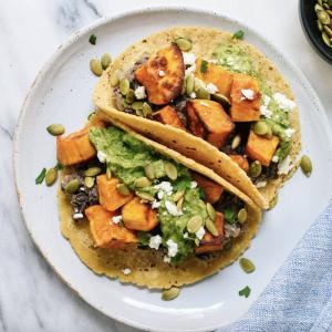 https://cookieandkate.com/sweet-potato-black-bean-tacos/