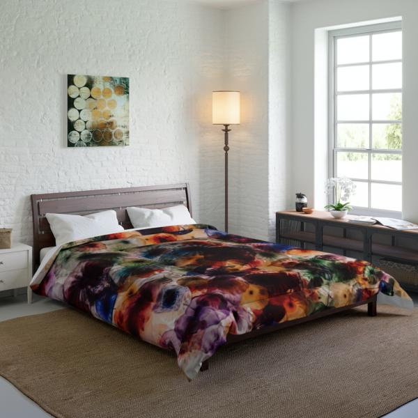 Psychedelic Jellies Comforter