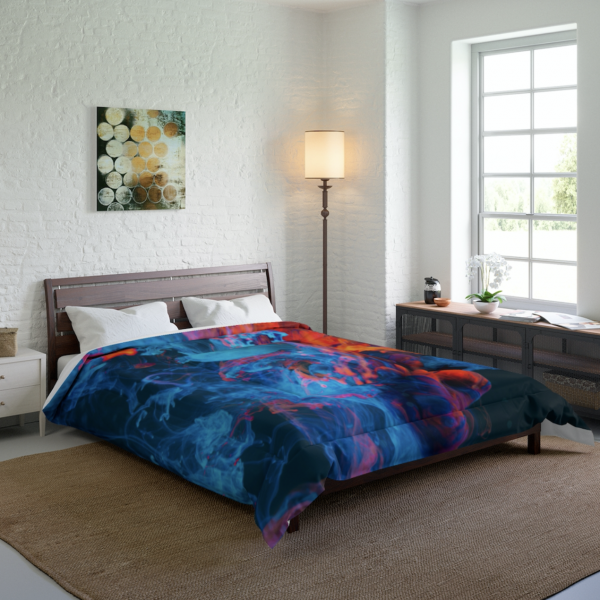 Blue Smoke Comforter
