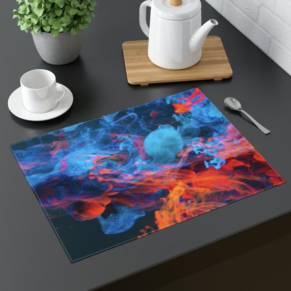 Blue Smoke Placemat