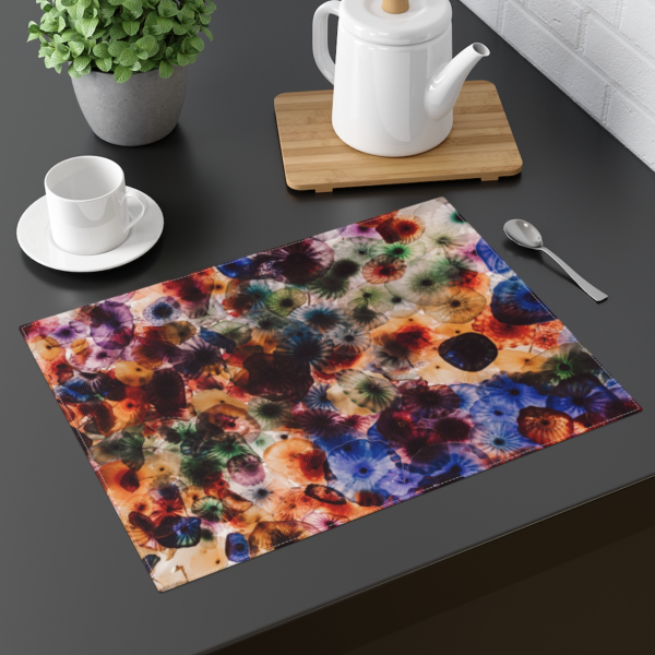 Psychedelic Jellies Placemat