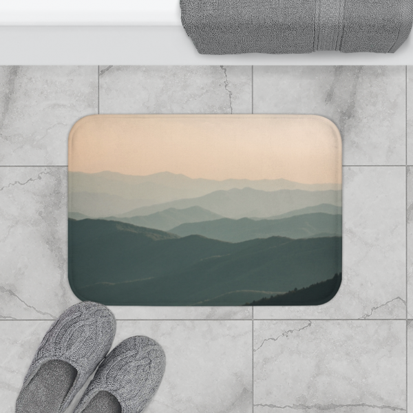 Great Smoky Mountains - Bath Mat