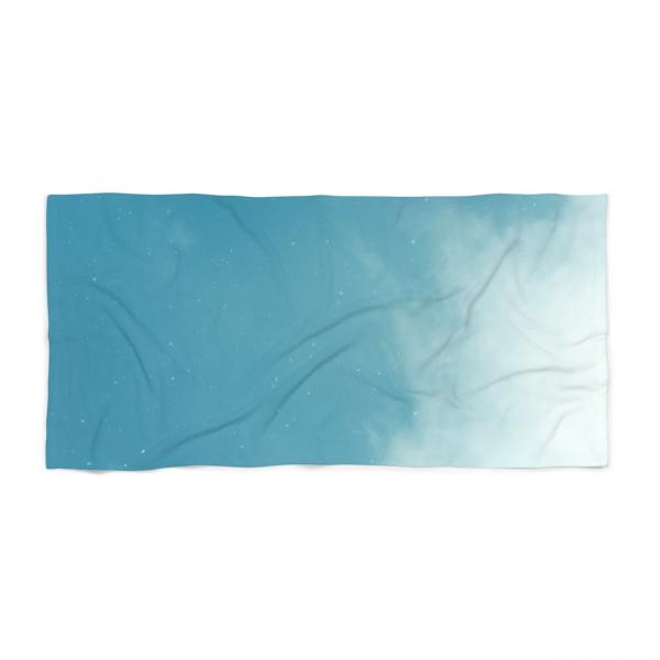 Aqua Sky Beach Towel