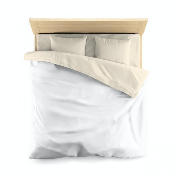 White Microfiber Duvet Cover