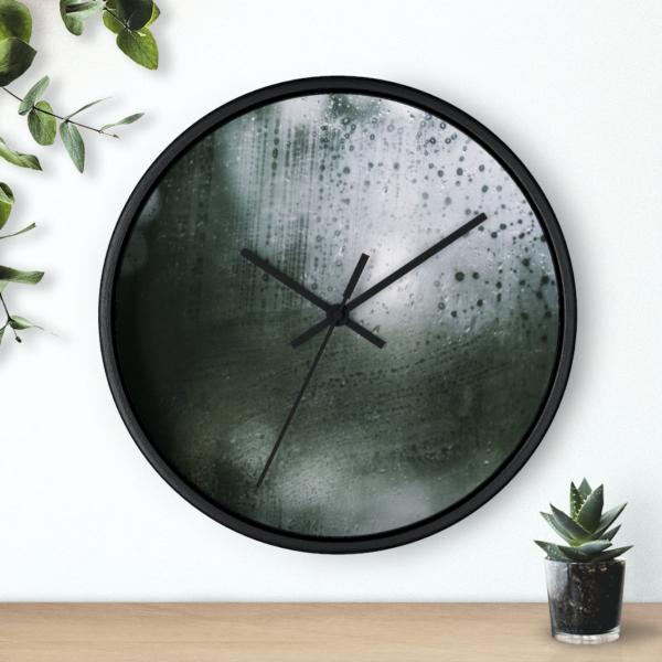 Raindrop Drive - Wall Clock