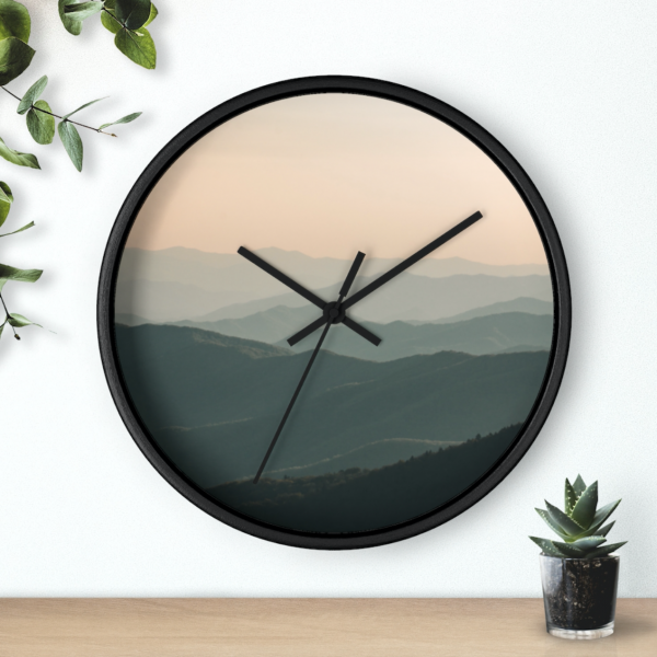 Great Smoky Mountains - Wall Clock