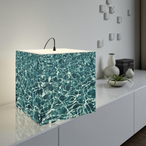 Issaquah Cube Lamp