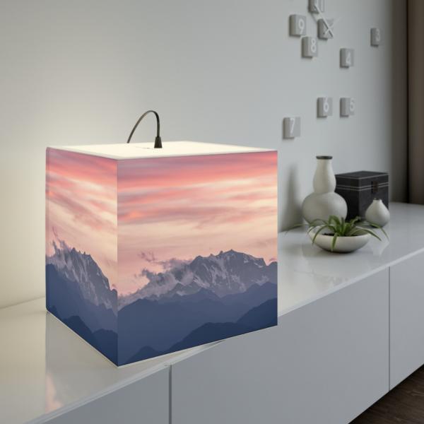 Monte Rosa Cube Lamp