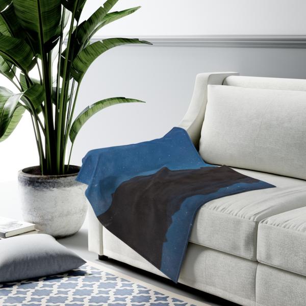 Banff Velveteen Plush Blanket