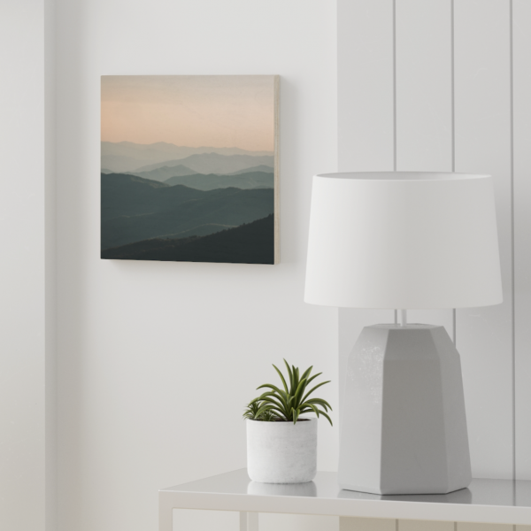 Great Smoky Mountains - Wood Canvas