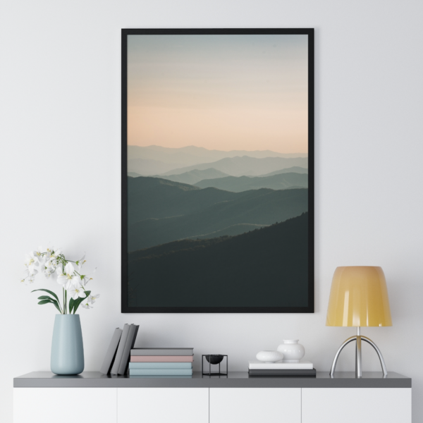 https://thesmokingchair.com/product/great-smoky-mountains-premium-framed-vertical-poster/